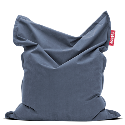 Zitzak 140 X 140.Original Stonewashed Iconic Soft Bean Bag Fatboy