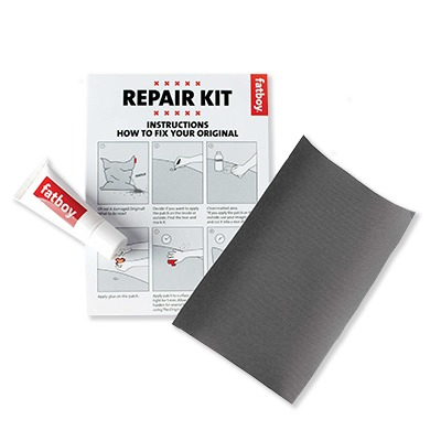 Fatboy Repair kit Silver