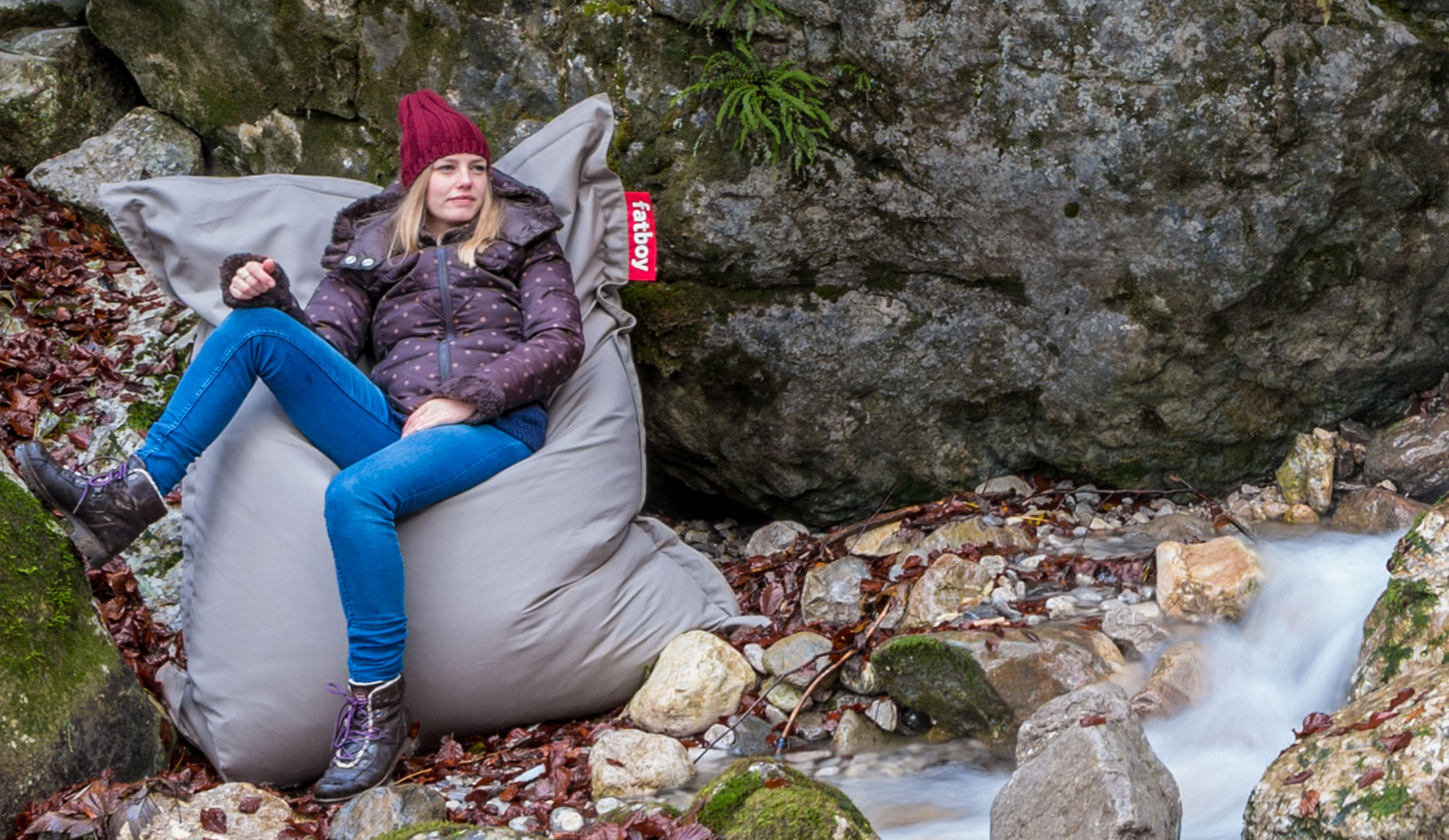 Outdoor Sitzsack Wasser Schmutzabweisend Fatboy