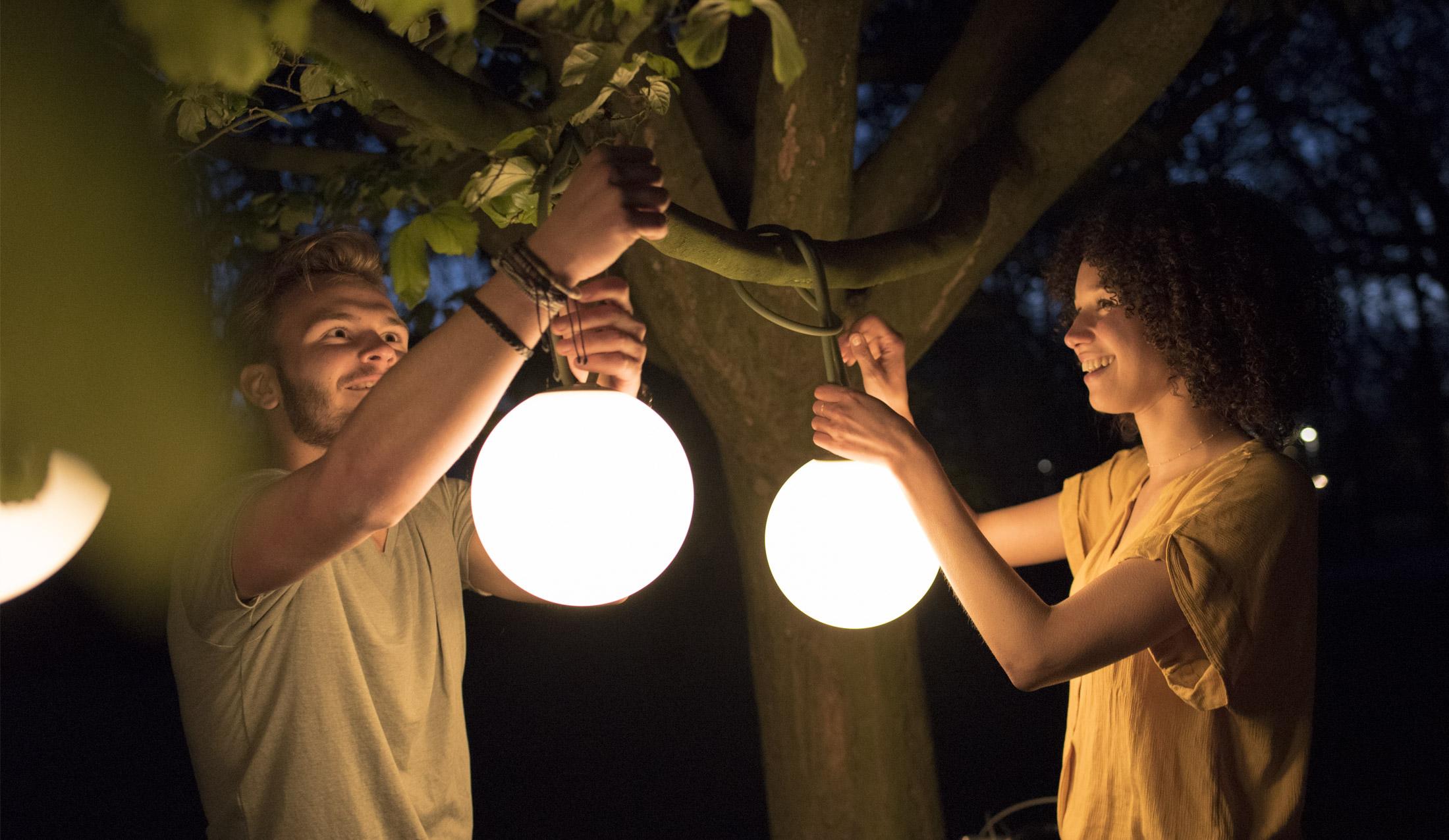 außenbeleuchtung: led-outdoor lampe für garten & balkon | fatboy
