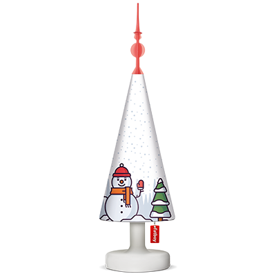 Fatboy Xmas Cooper Cappie Tree Toppers Lampenschirm Treetopper Snowmany