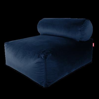 Fatboy Tsjonge Velvet Lounge Sofa Dark Blue