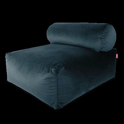 Magnificent Fatboy Tsjonge Velvet Petrol Dailytribune Chair Design For Home Dailytribuneorg