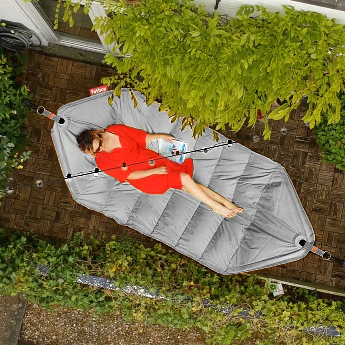 Grijze Zitzak Fatboy.Quality Sustainable Design By Fatboy Iconic Beanbags And Lamzac