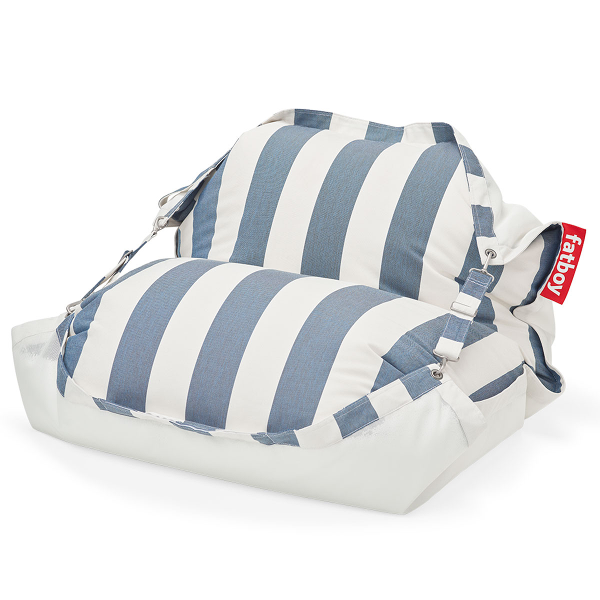Fatboy Original Floatzac Stripe Ocean Blue